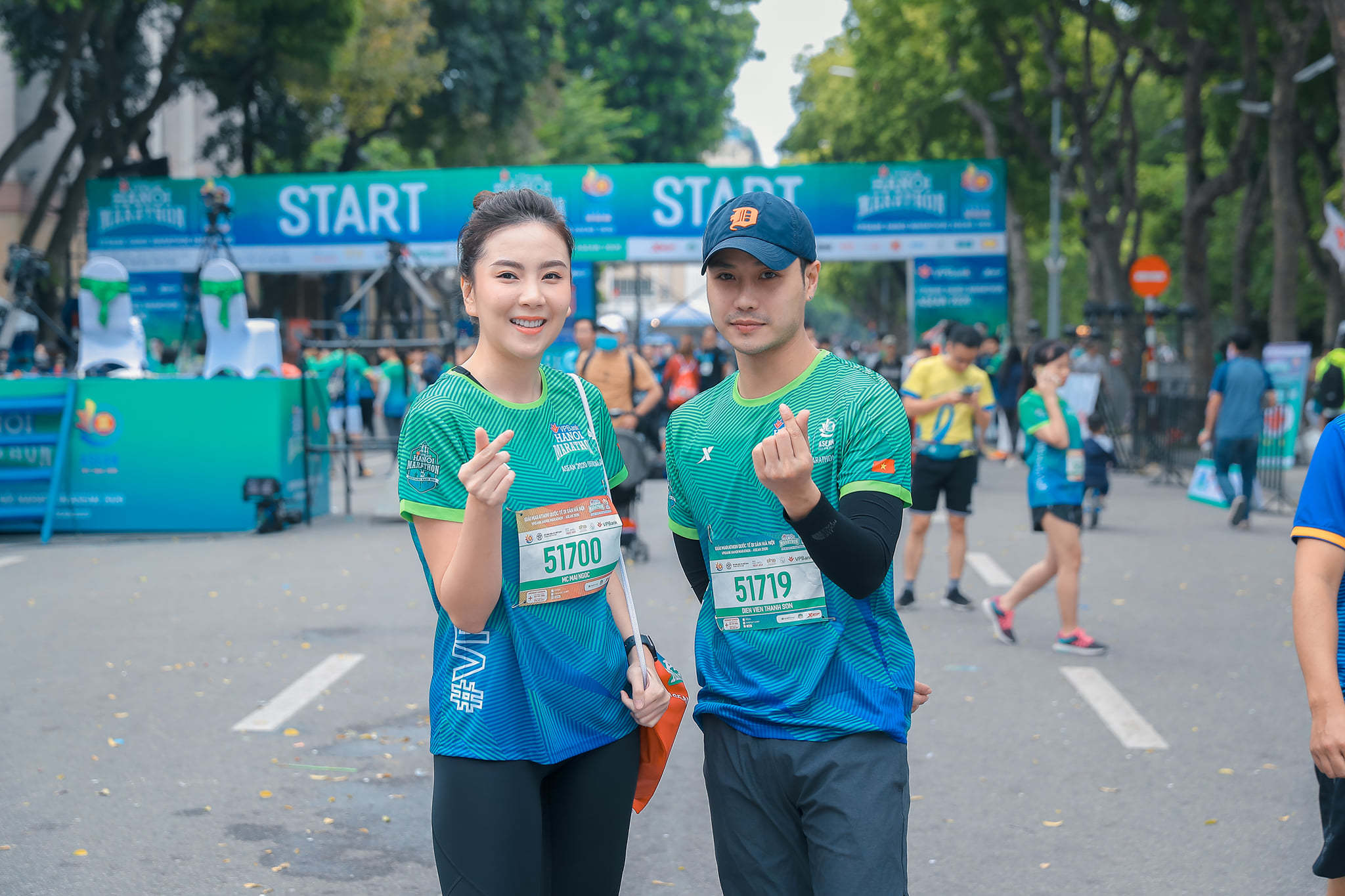 MC Mai Ngọc chạy thi cùng Xuân Nghị, Thanh Sơn