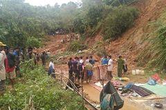 Tìm đủ 6 thi thể trong một gia đình ở Quảng Trị bị núi lở vùi lấp
