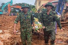 Tìm thấy 14 thi thể vụ sạt lở vùi lấp 22 cán bộ, chiến sỹ ở Quảng Trị