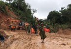 Quang Tri: 22 soldiers missing in landslide
