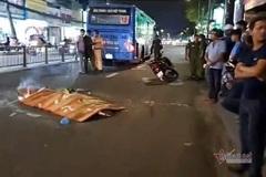 Thanh niên bị xe buýt cán chết trên phố Sài Gòn