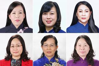 Điều đặc biệt ở 6 nữ Bí thư Tỉnh ủy nhiệm kỳ 2020 – 2025 vừa trúng cử