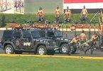Xem học viên cảnh sát Ai Cập phô diễn kỹ thuật chiến đấu