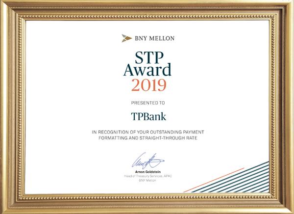 TPBank giành giải thưởng thanh toán quốc tế nhờ ứng dụng blockchain