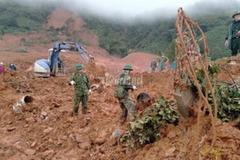 Đã tìm thấy 22 thi thể cán bộ, chiến sĩ tử nạn ở Quảng Trị