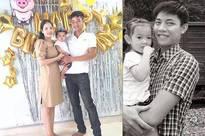 Nhói lòng hình ảnh hạnh phúc bên gia đình của Thượng úy Công an trước khi hy sinh