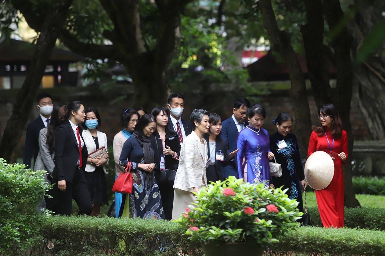 Chuyến thăm đặc biệt giữa thu Hà Nội của phu nhân Thủ tướng Nhật Bản
