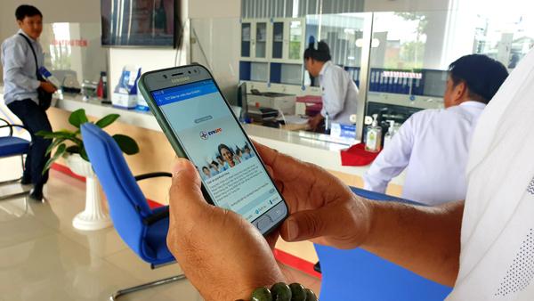 EVNSPC đẩy mạnh giao dịch trực tuyến