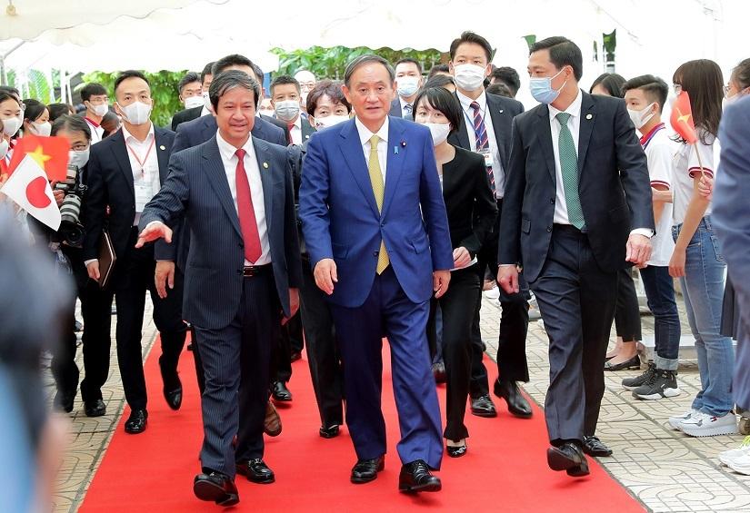 Bài phát biểu của Thủ tướng Nhật Bản Suga Yoshihide với sinh viên