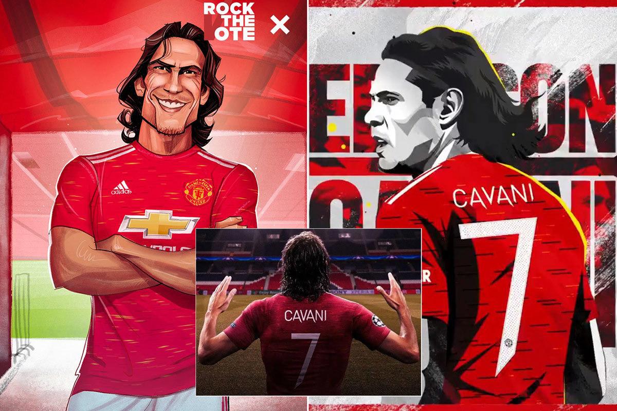 MU đấu Chelsea: Cavani giải