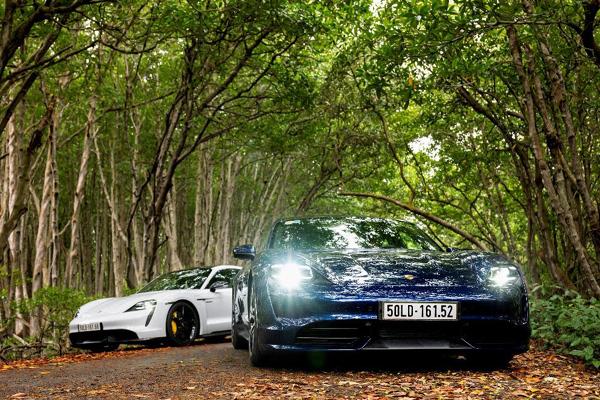 Xe thể thao thuần điện Porsche Taycan về Việt Nam từ ngày 10/10