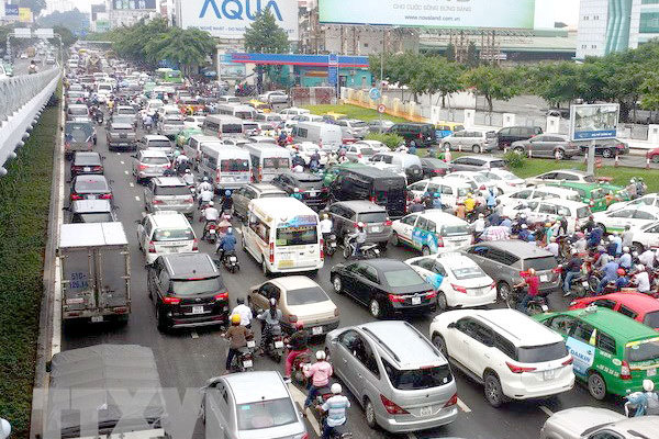 HCM City reviews planning of parking lots