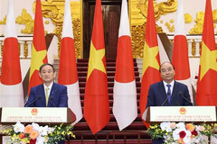 Vietnam plays a key role in Free and Open Indo-Pacific strategy, Japanese PM Suga says