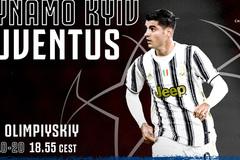 Trực tiếp Dynamo Kiev vs Juventus: Bão tố ngày vắng Ronaldo