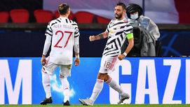 PSG 0-1 MU: Bruno Fernandes sút 11m thành công (H2)