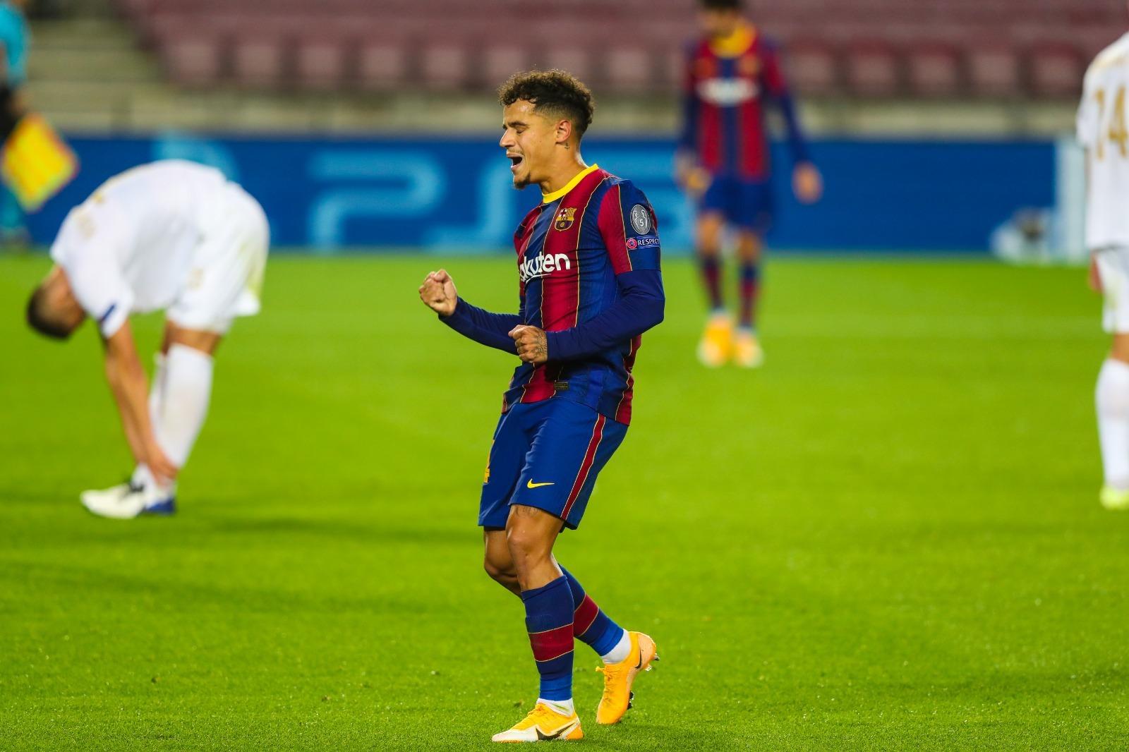 Messi khai hỏa, Barca đại thắng '5 sao'