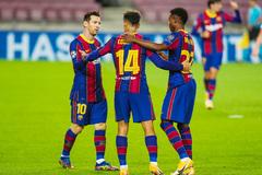 "Messi khai hỏa, Barca đại thắng ""5 sao"""