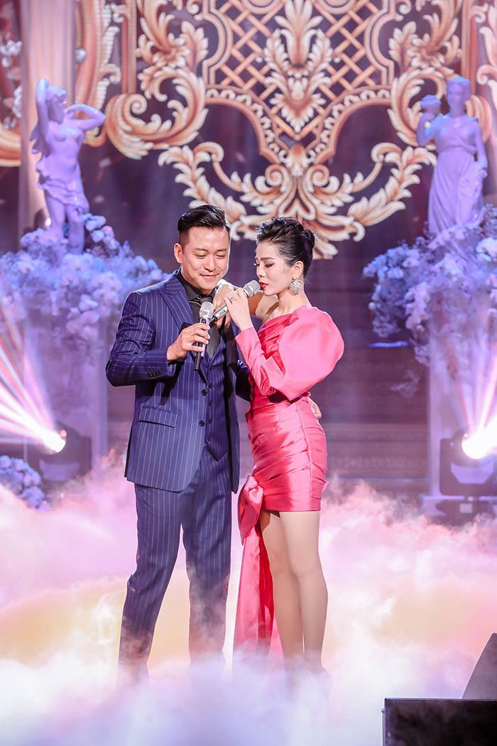 Lệ Quyên song ca ngọt ngào cùng Tuấn Hưng, Quang Hà