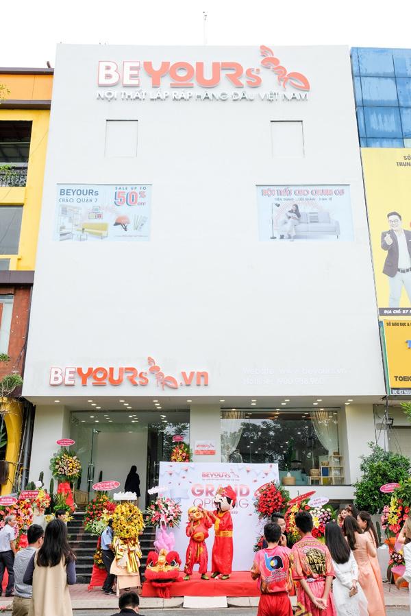 Nội thất BEYOURs khai trương cửa hàng mới ở quận 7