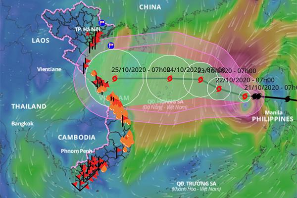 Vùng ảnh hưởng của bão số 8 rất rộng, không để 'giọt nước tràn ly'