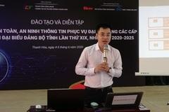 Thanh Hóa: Bảo đảm an toàn, an ninh thông tin mạng trước thềm Đại hội Đảng