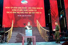 CBNV Viettel quyên góp 10 tỷ đồng hỗ trợ đồng bào miền Trung