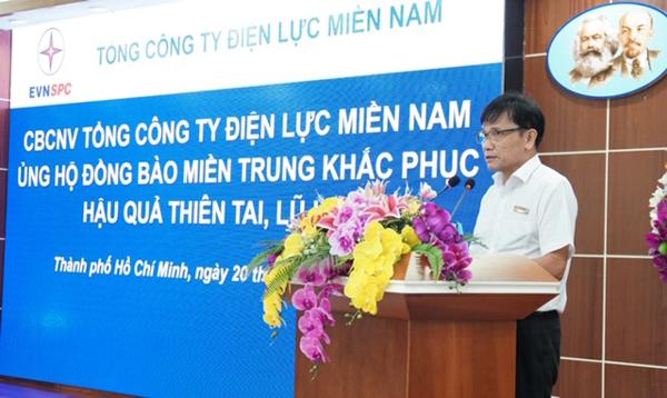 EVNSPC ủng hộ hơn 3,6 tỷ cho đồng bào miền Trung