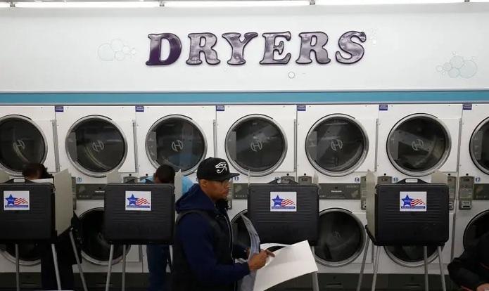 Những điểm bỏ phiếu 'có một không hai' tại Mỹ