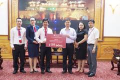 DOJI ủng hộ 1 tỷ đồng cho người dân vùng lũ Thừa Thiên Huế