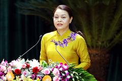 Bà Nguyễn Thị Thu Hà tái đắc cử Bí thư Tỉnh uỷ Ninh Bình
