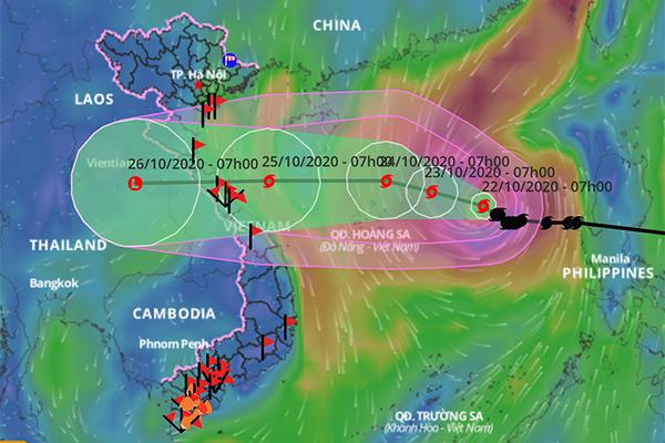 Khả năng xuất hiện áp thấp mới 'nối đuôi' bão số 8 vào Biển Đông
