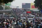 Lý giải ùn tắc giao thông tăng mạnh trước thềm nghỉ lễ 30/4 ở TP.HCM