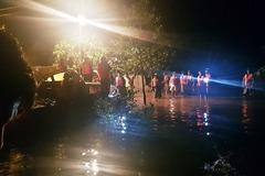 Dùng bè chuối đi thả lưới, nam sinh ở Hà Tĩnh bị nước lũ cuốn trôi