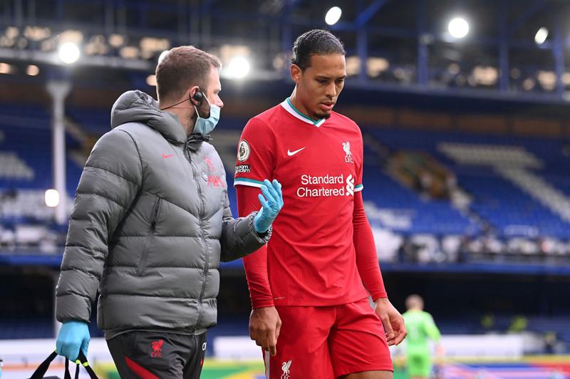 Cảnh báo đáng sợ về chấn thương nặng của Van Dijk
