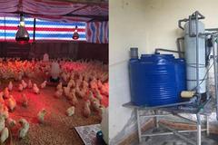 Làm máy lọc nước, chăm 4.000 con gà giống tặng bà con miền Trung