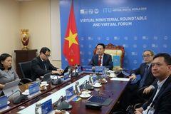 Phiên 3 Hội nghị Bộ trưởng và Hội thảo chuyên đề ITU Digital World 2020