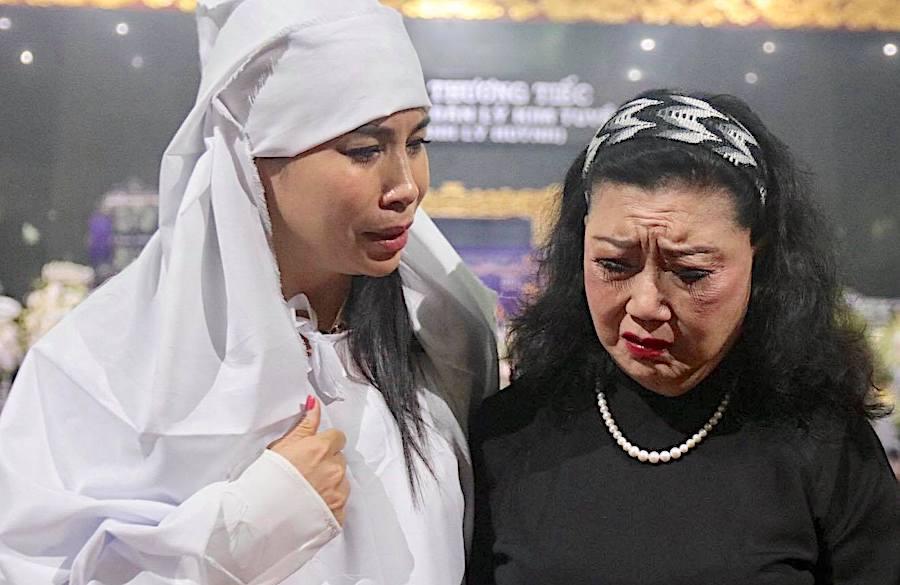 Lý Hương chia sẻ nỗi đau đáu của NSND Lý Huỳnh trước khi mất