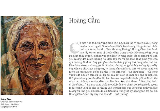 51 chân dung văn nghệ sĩ nổi tiếng qua ngòi bút của họa sĩ 8x