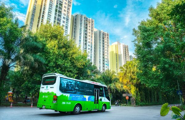Giao thông thông minh ở 'thành phố xanh' Ecopark