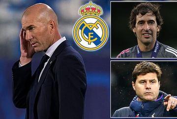 Real Madrid bết bát, Pochettino và Raul lật ghế Zidane