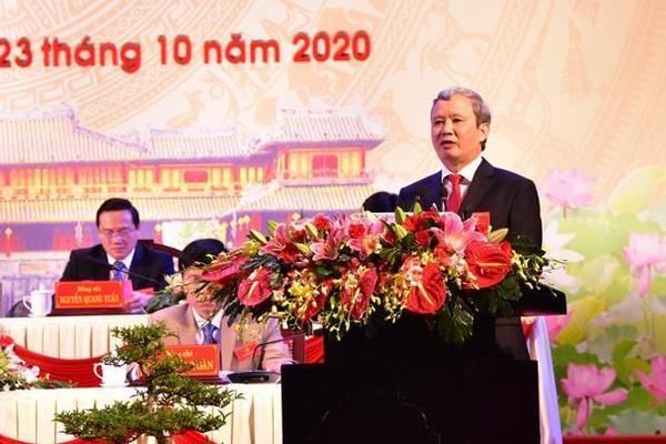 Ông Lê Trường Lưu tái đắc cử Bí thư Tỉnh ủy Thừa Thiên-Huế