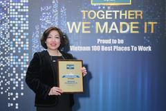 FWD vào top 3 môi trường làm việc tốt nhất ngành bảo hiểm Việt Nam