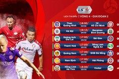 Lịch thi đấu V-League vòng 4 giai đoạn 2