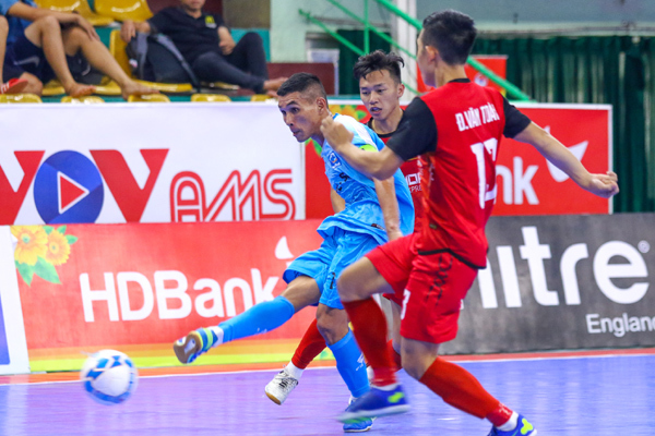 Thái Sơn Nam 5 lần liên tiếp 'xưng vương' Futsal HDBank VĐQG 2020