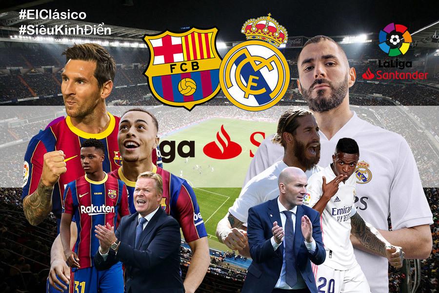 Nhận định Barca vs Real: Mưa bàn thắng ở Siêu kinh điển