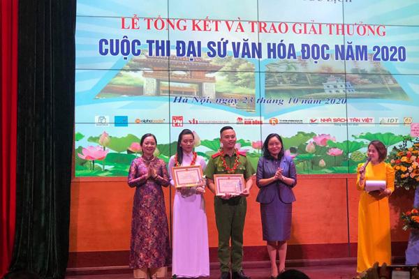 Sinh viên Học viện Cảnh sát nhân dân là đại sứ văn hoá đọc 2020