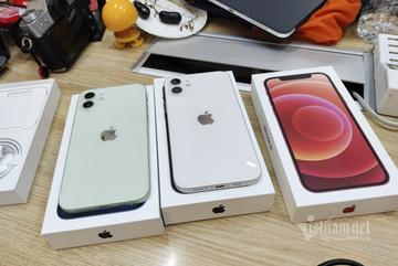Cận cảnh iPhone 12 vừa về đến Việt Nam, rẻ nhất 23 triệu đồng