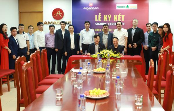 AMACCAO và Phục Hưng Holdings ký kết hợp tác toàn diện