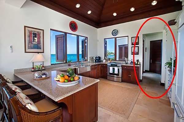 Mẹo lắp cửa ở phòng khách để tránh tiền tài suy bại