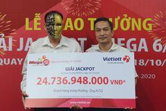 Mộtngười trúng Vietlott 24 tỷủng hộ miền Trung 200 triệu